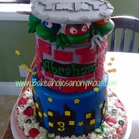 Ninja Turtles Cake Tmnt all edible and handmade TMNT CAKE