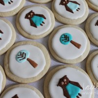 Dwell Studio Prints Cookies Dwell Studio Owl Cookies
