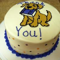 Roscoe Reading Cake This was a thank you cake for volunteers who help out with a reading program at the elementary school.