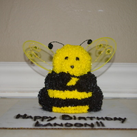 Bee Cake I made this cake by using the mini stand-up bear pan, then cutting off the bear's ears. The wings were butterfly wings that I...