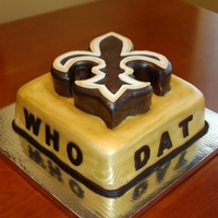 Who Dat Who Dat, Saints Cake