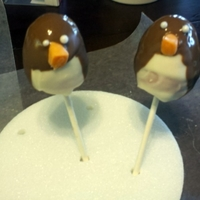 Penguin Cake Pops This is my first time making cake pops. I made this for a Baby Shower Theme, not the best pretty shape but everyone loved it. I had a great...