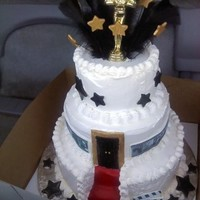 Hollywood Theme Cake