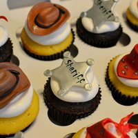 Cow Boy Theme Cupcakes