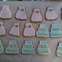 Bridal Shower Cookies Bride wanted to surprise her family and closest friends by asking them to be apart of her bridal court on her special day. SHe asked them...