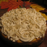"Pumpkin Cheesecake...yummy For Your Tummy! I honestly did not put this picture up for the looks, I had to share this for the recipe! It is divine! I placed the recipe under ""Flo..."
