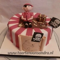 Pirate Cake For A Boy