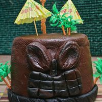 Tiki Cake This was a birthday cake I made!