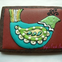 Folk Art Bird Folk Art Bird