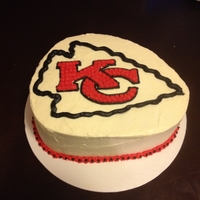 Kc Chiefs Grooms Cake (100% Sugar Free) I used a SF boxed cake mix (Pillsbury) and DolceDiva2011's sugar free icing recipe. It turned out marvelous! The frosting was super...