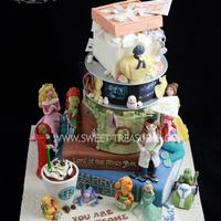 Story Avenue *The Avenue Themed Cake To understand this theme, you must really understand the story behind each tier. I will try to be as short as...