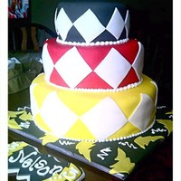 Power 2 You   This cake is a Power Ranger inspired Birthday cake for a 3yr old Boy