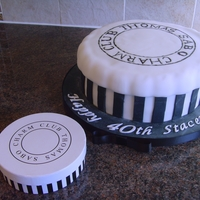 Thomas Sabo Charm Box Cake  I now know that I should have cut the strips on the side of the cake shorter so that the lid didn't have that fluted effect. Still, we...