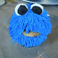 Cookie Monster Cookie Monster Cupcakes