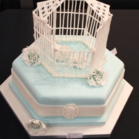 Vintage Birdcage All decoration edible