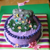Rockclimbing Wall Cake For A Birthday Girl Request For Lots Of Purple Amp Pink On A French Vanilla Cake With Creamy Raspberry Buttercrea Rockclimbing wall cake for a birthday girl. Request for lots of purple & pink on a french vanilla cake with creamy raspberry...