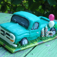 A Sweet 16 Cake Or A Friend Of Mines Son I Created A Vanilla Pound Cake Replica Of His 1St Truck A sweet 16 cake or a friend of mine's son. I created a vanilla pound cake replica of his 1st truck.
