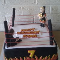 Boxing Ring Cake