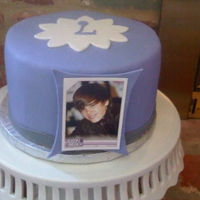Justin Bieber Cake Justin Bieber cake for my niece who is CRAZY for Bieber.