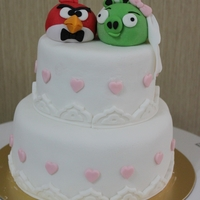 Angry Birds Cake Enemies made peace!