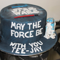 Star Wars star wars cake i made for a special little boy