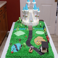 Castle Golf Course Cake