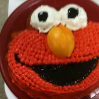 Elmo I used oranges foe the nose