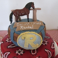 Tiered Western Cake