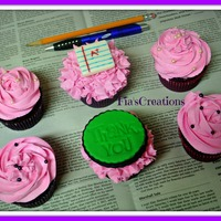 Teacher Appreciation Cupcakes Thanks for looking!
