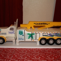 Tow Truck Cake All edible :)
