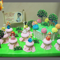 Pie Muffins Fondant Edible Image Princesses Are Made In Molds   pie, muffins, fondant, edible image, princesses are made in molds