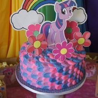 My Little Pony Petal Cake