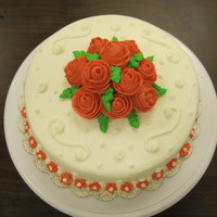 Final Project Cake - Wilton Course One: Cake Decorating Basics