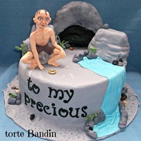 Lord Of The Ringsgollum Cake lord of the rings,gollum cake