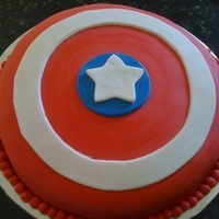 Captain America's Shield.