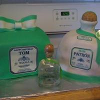 Patron Tequila & Gift Box