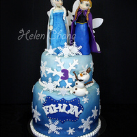 Frozen Cake   This must be the most popular theme cake in 2014!