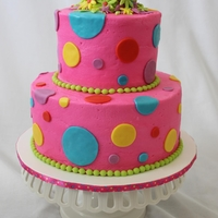 Very Bright Baby Shower Cake