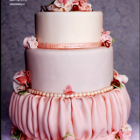 Cake Central Butterfly Blush Wedding Cake This is our cake for the Cake Central wedding issue..We had so much fun.. such an honor.