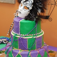 Culinary Cake this was the first ever tiered cake i ever did. made in culinary school in high school senior. it was for my culinary teacher wife. let me...