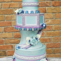 Believe Wedding Cake