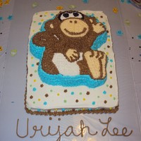 Nikki's Baby Shower Cake