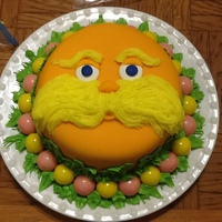 The Lorax Cake 6   The Lorax Cake 6""