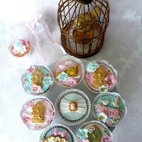 Wedding Cupcakes - Birdcage