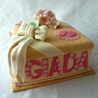 Gift Box Birthday Cake