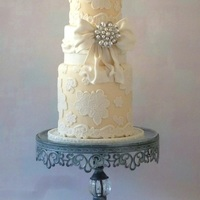 Ivory And White With Lace