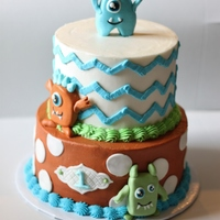 Monster Birthday Cake Monster Birthday Cake