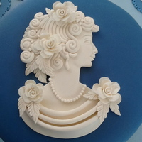 Wedgwood Inspired Grecian Lady Cameo 2 Wedgwood inspired Grecian Lady Cameo 2