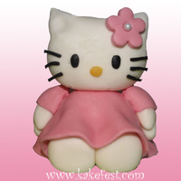 Hello Kitty Hello Kitty made of sugarpaste