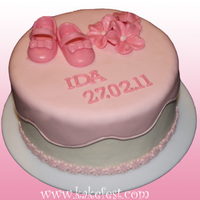 Cake For A Baby Girl